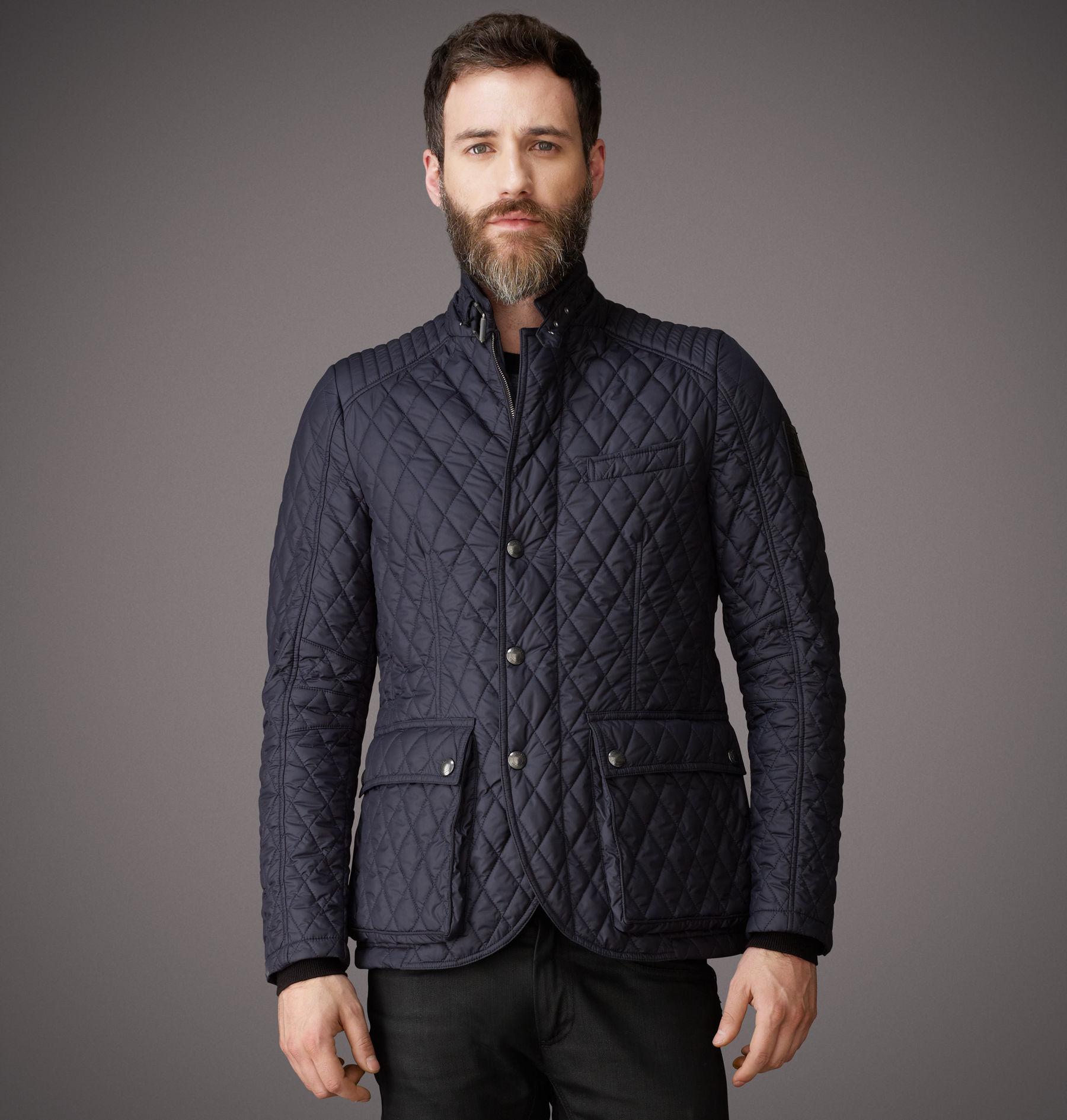 Lyst Belstaff Petersham Jacket In Blue For Men