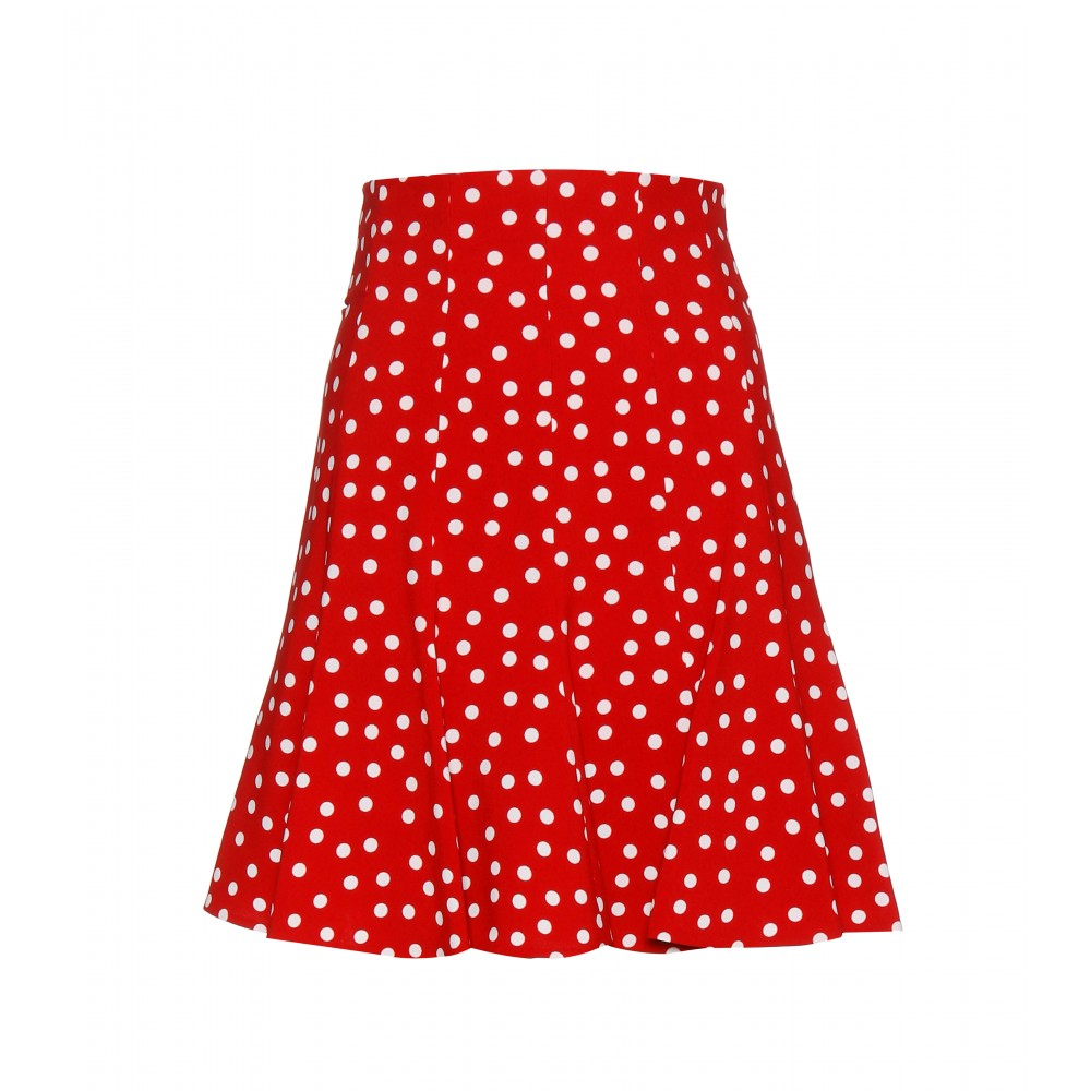 Red Polka Dot Skirt - Dress Ala