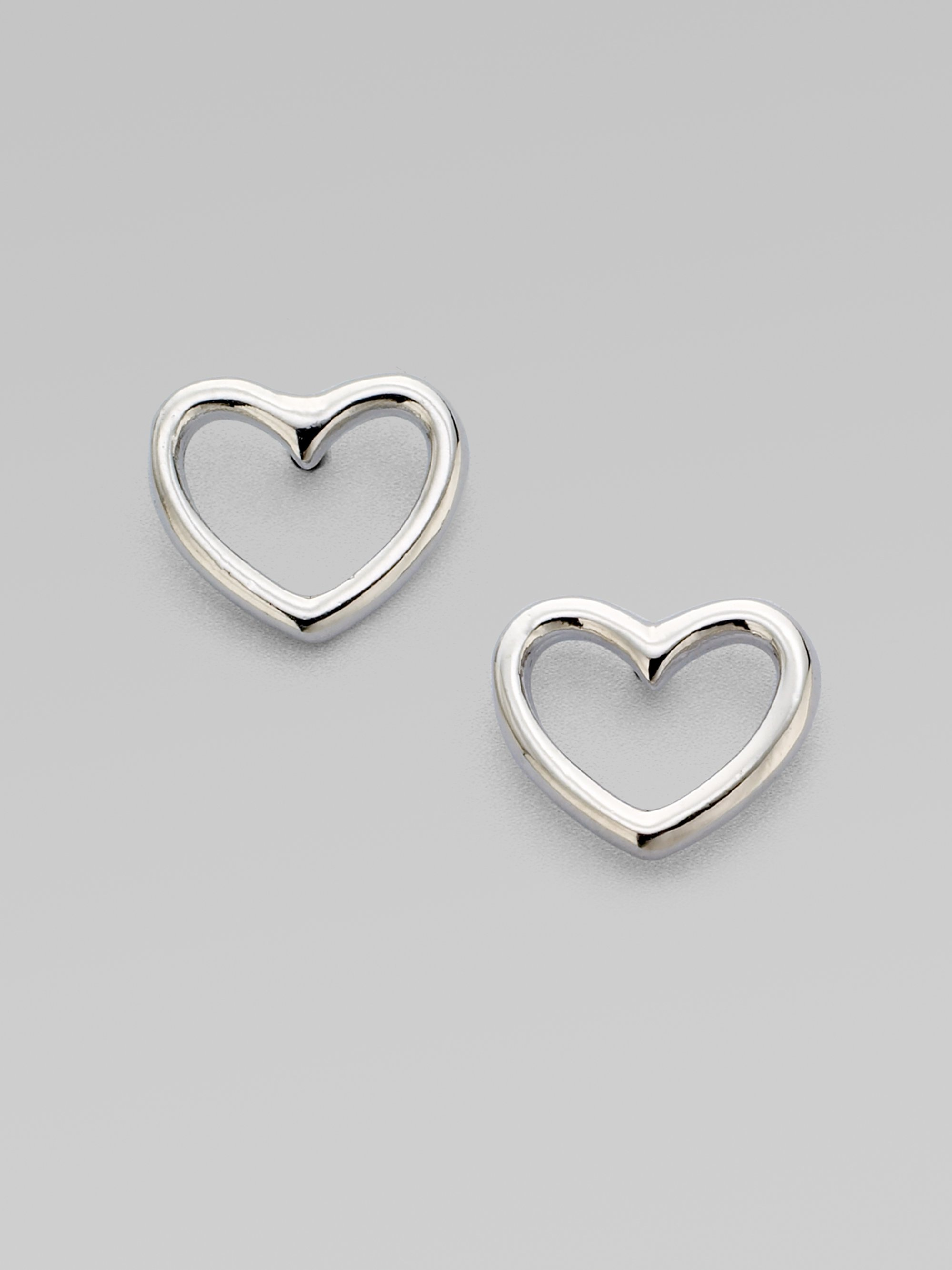 earrings allure shaped heart products collection temperament simple drip