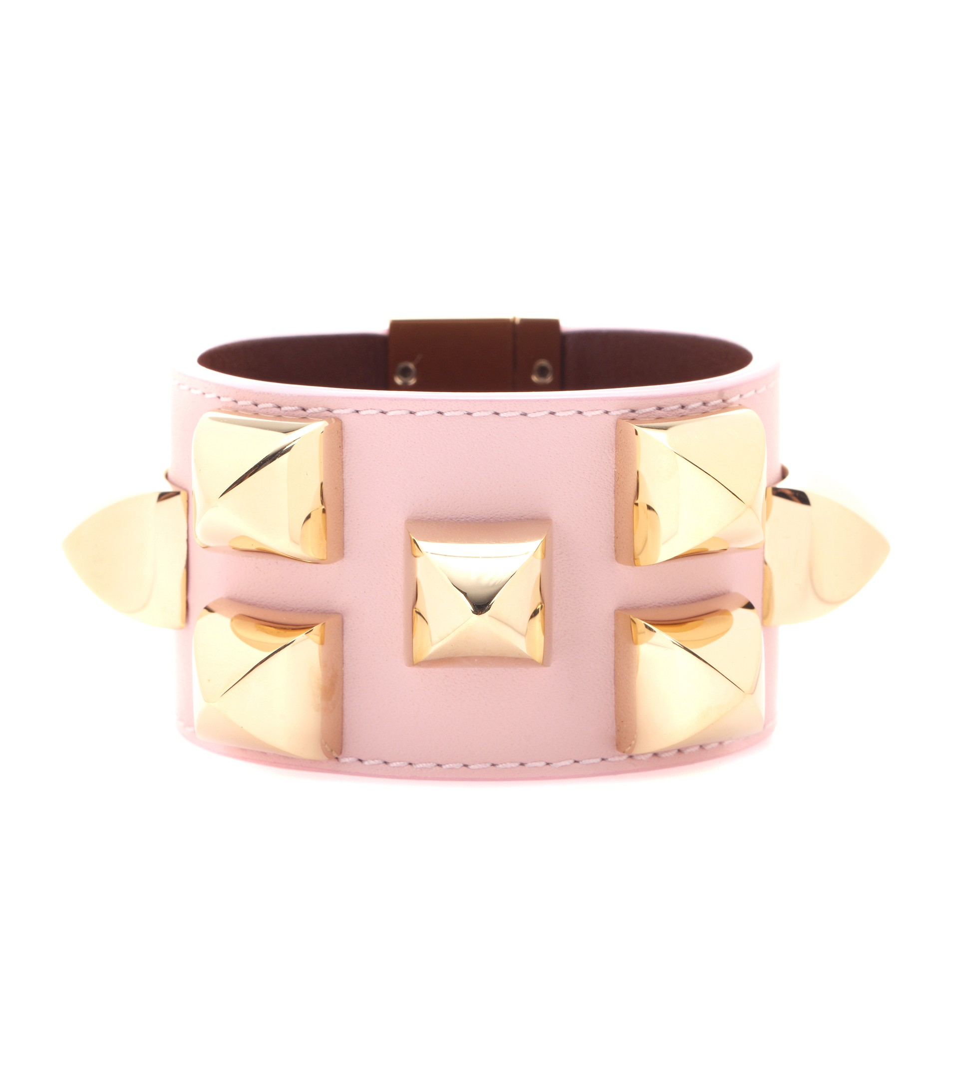 Givenchy Studded Leather Bracelet in Pink - Lyst e92c4be004