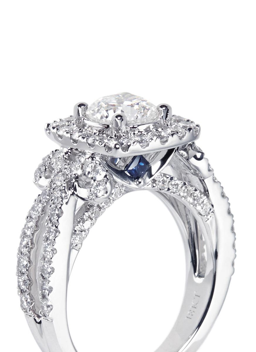 Ribbon Vintage Diamond Ring Image