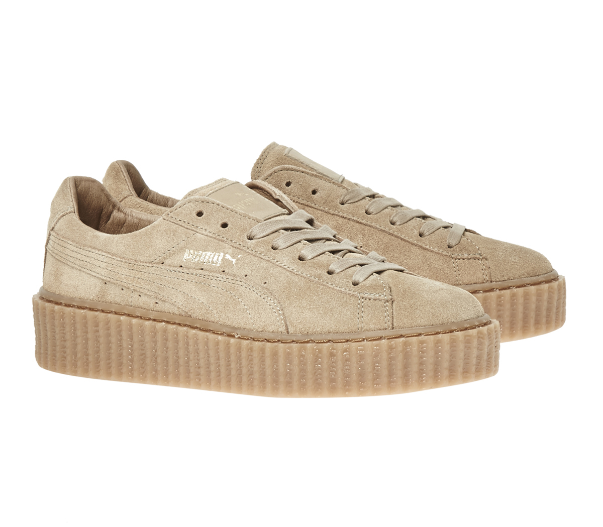 suede puma creepers