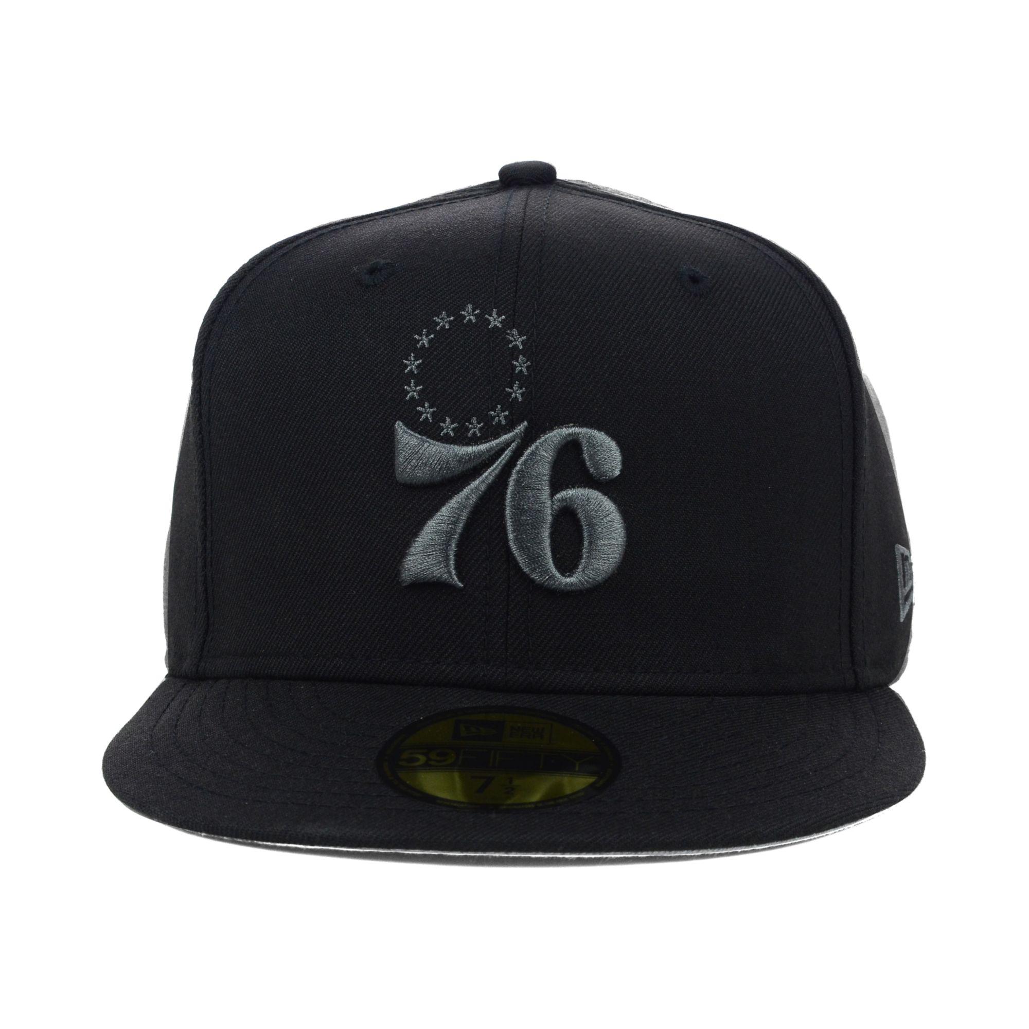 3cf9d5c9c54 Lyst - KTZ Philadelphia 76ers Nba Hardwood Classics Black Graphite ...