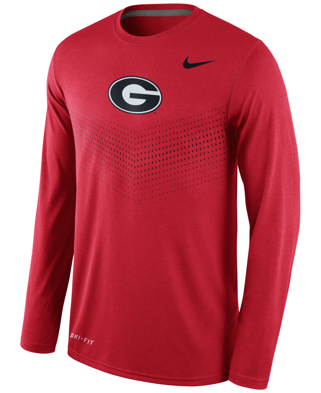 Nike Men 39 S Long Sleeve Georgia Bulldogs Legend Sideline T