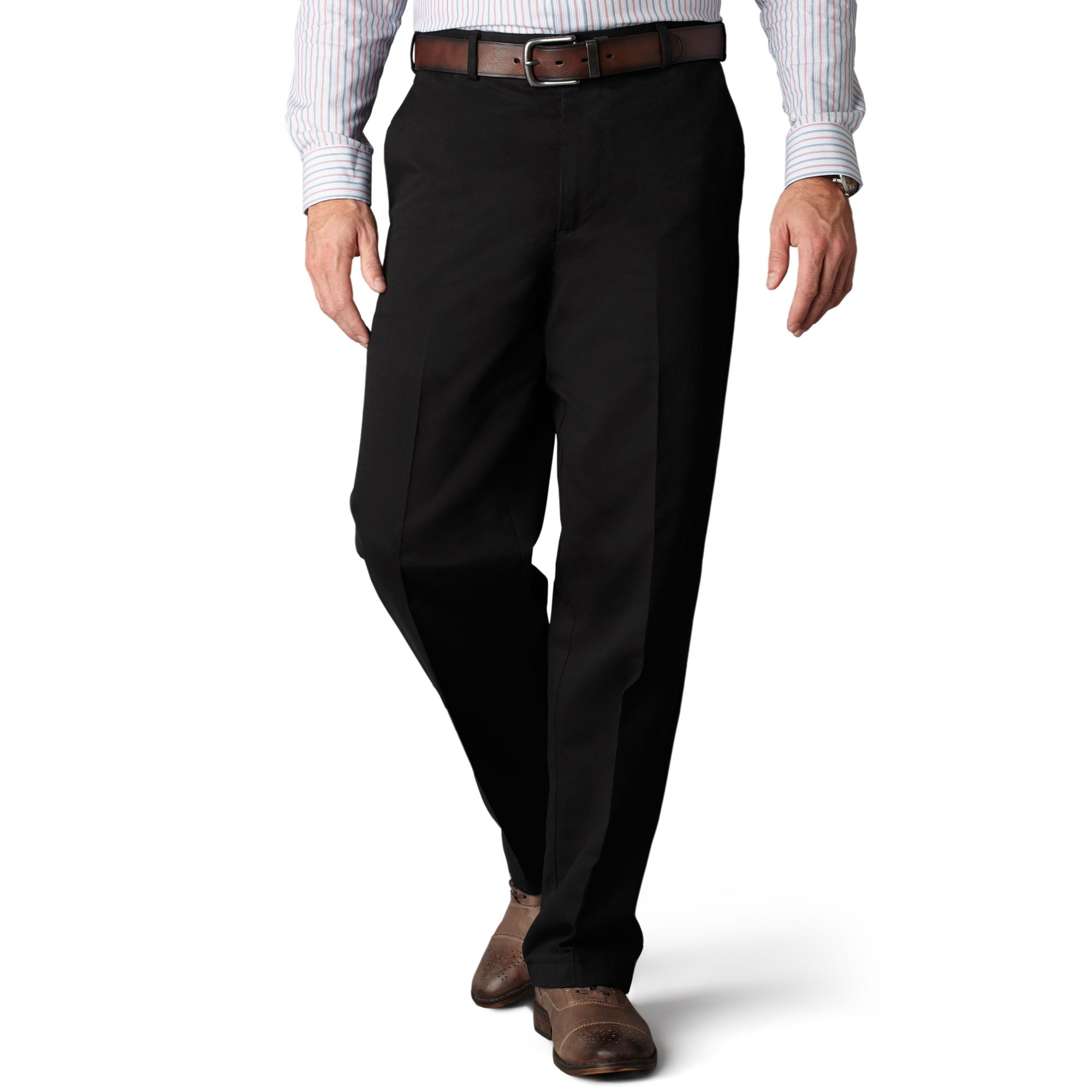 Free shipping BOTH ways on Dockers, Pants, Black, Men, from our vast selection of styles. Fast delivery, and 24/7/ real-person service with a smile. Click or call