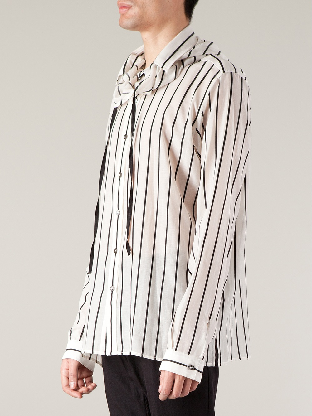Where Can You Find SHIRTS - Shirts Ann Demeulemeester Clearance Low Cost Visa Payment For Sale Cheap Pay With Visa 0tKPh