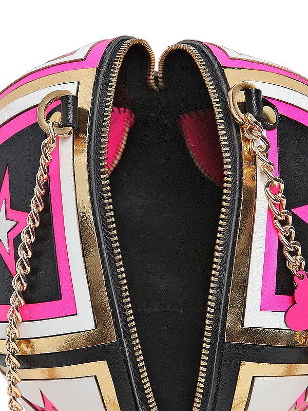 d626f8e7dd4c0f Manish Arora Leather Skull Clutch in Purple - Lyst