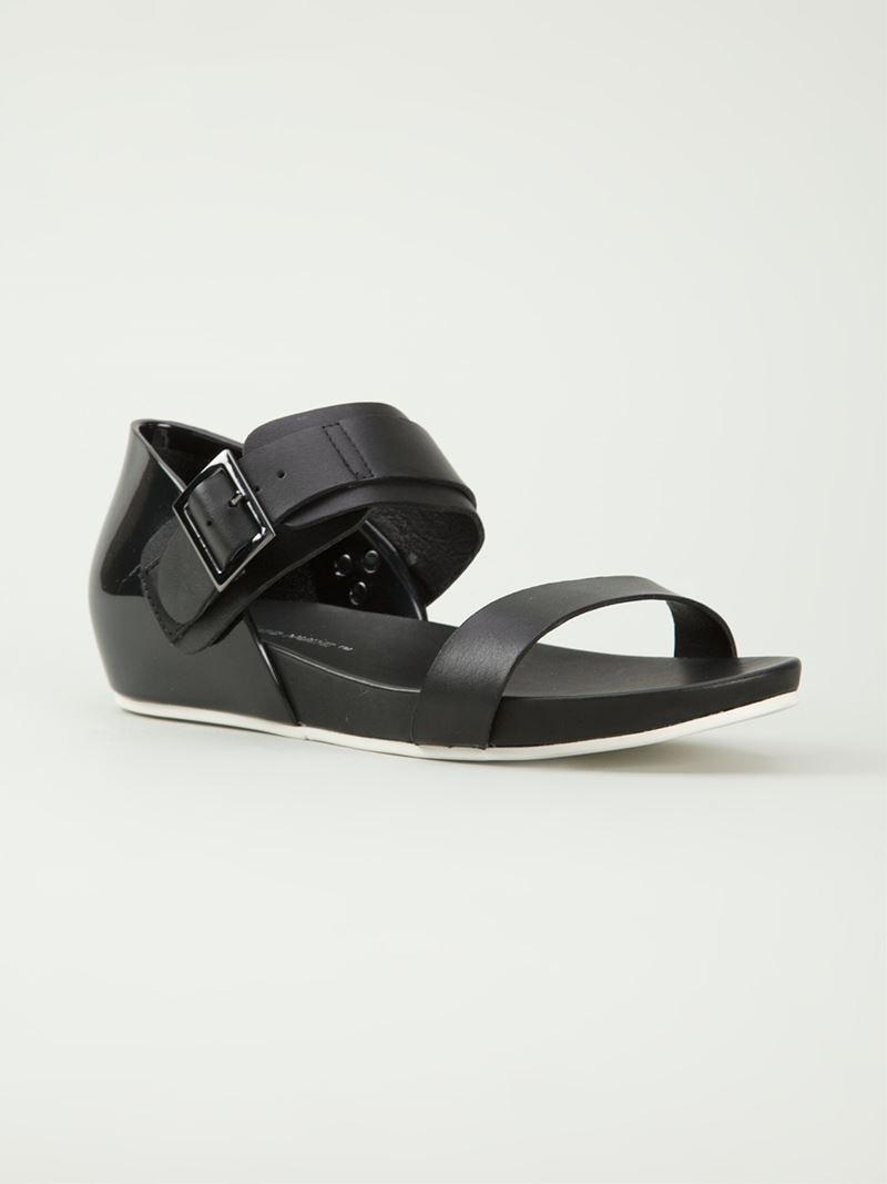 Lyst - United Nude Apollo Lo Sandal in Black