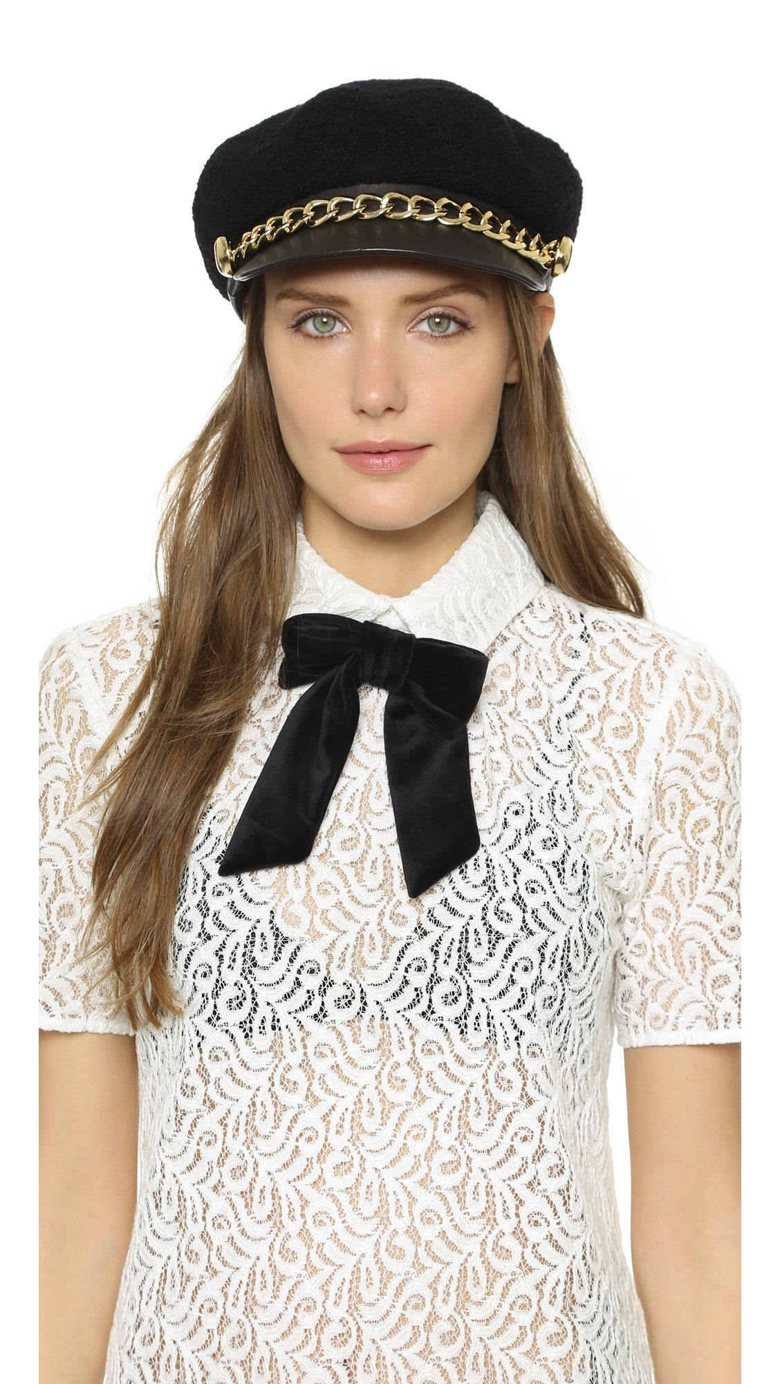 91427c796546c Lyst - Eugenia Kim Marina Hat in Black