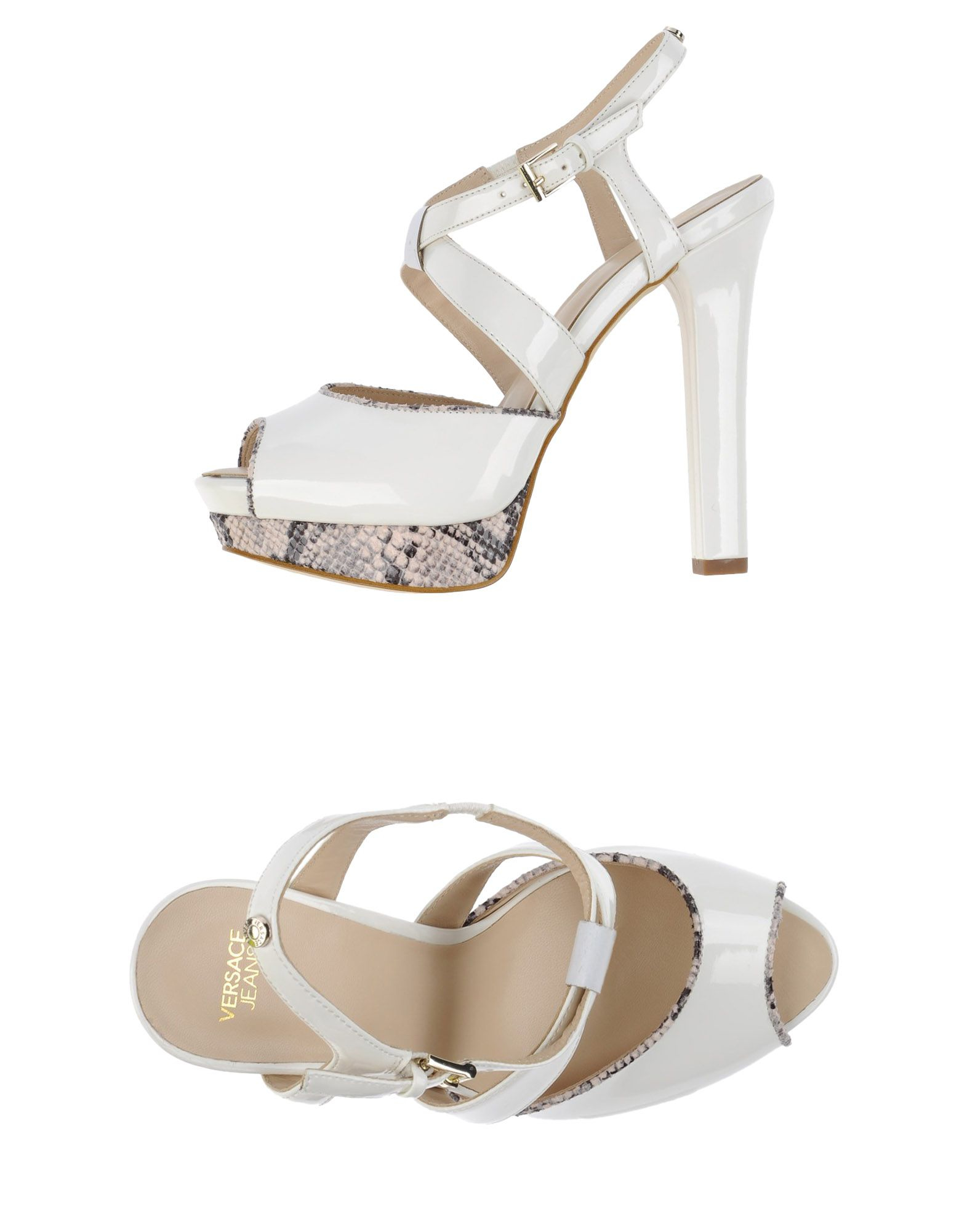Lyst - Versace Jeans Sandals in White