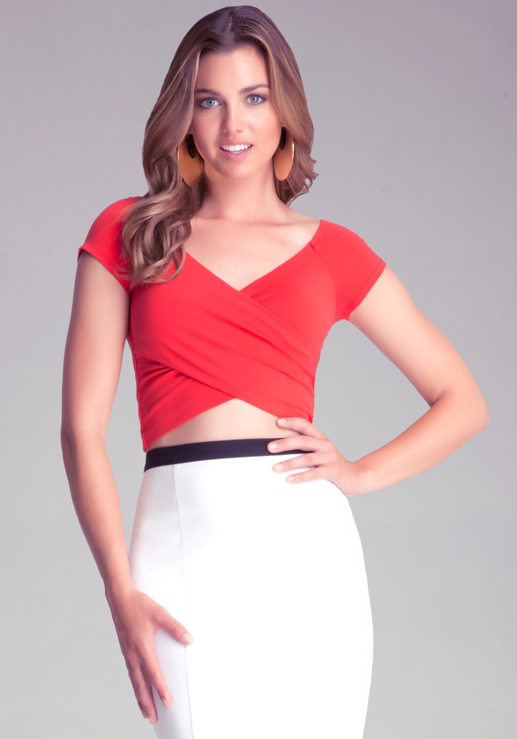 998b1b09c806 Images of Red Off The Shoulder Crop Top - All about Fashions