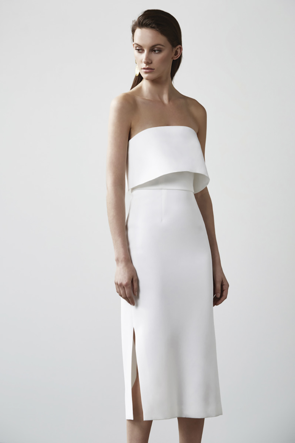 Womens New Line Dress C/Meo Collective