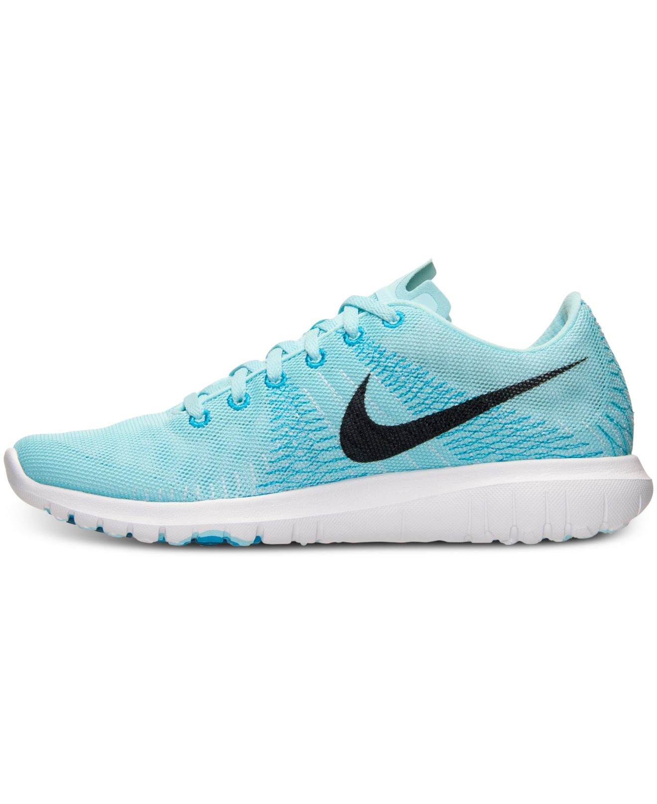a82867bdfc5d0 ... hot lyst nike womens flex fury running sneakers from finish line in  blue ef824 4256d