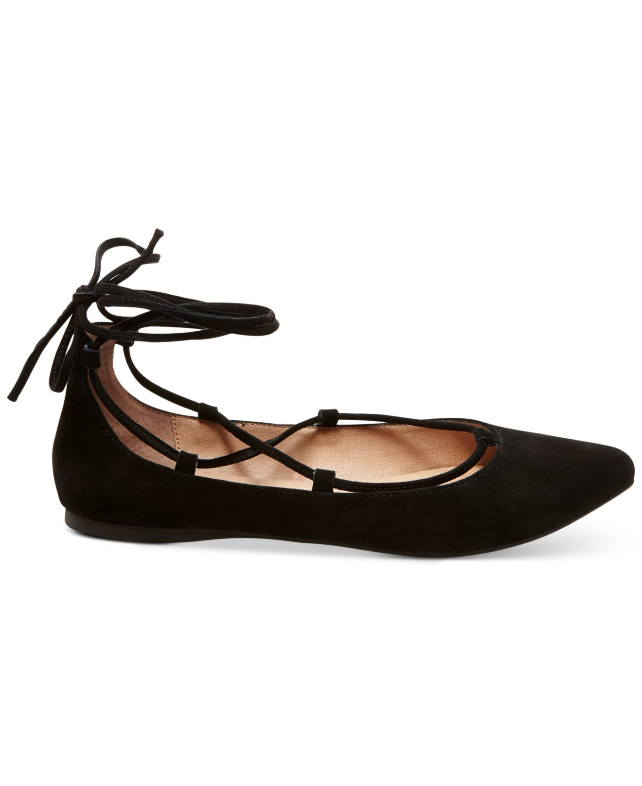 51de068033b Gallery. Previously sold at  Macy s · Women s Lace Up Flats ...
