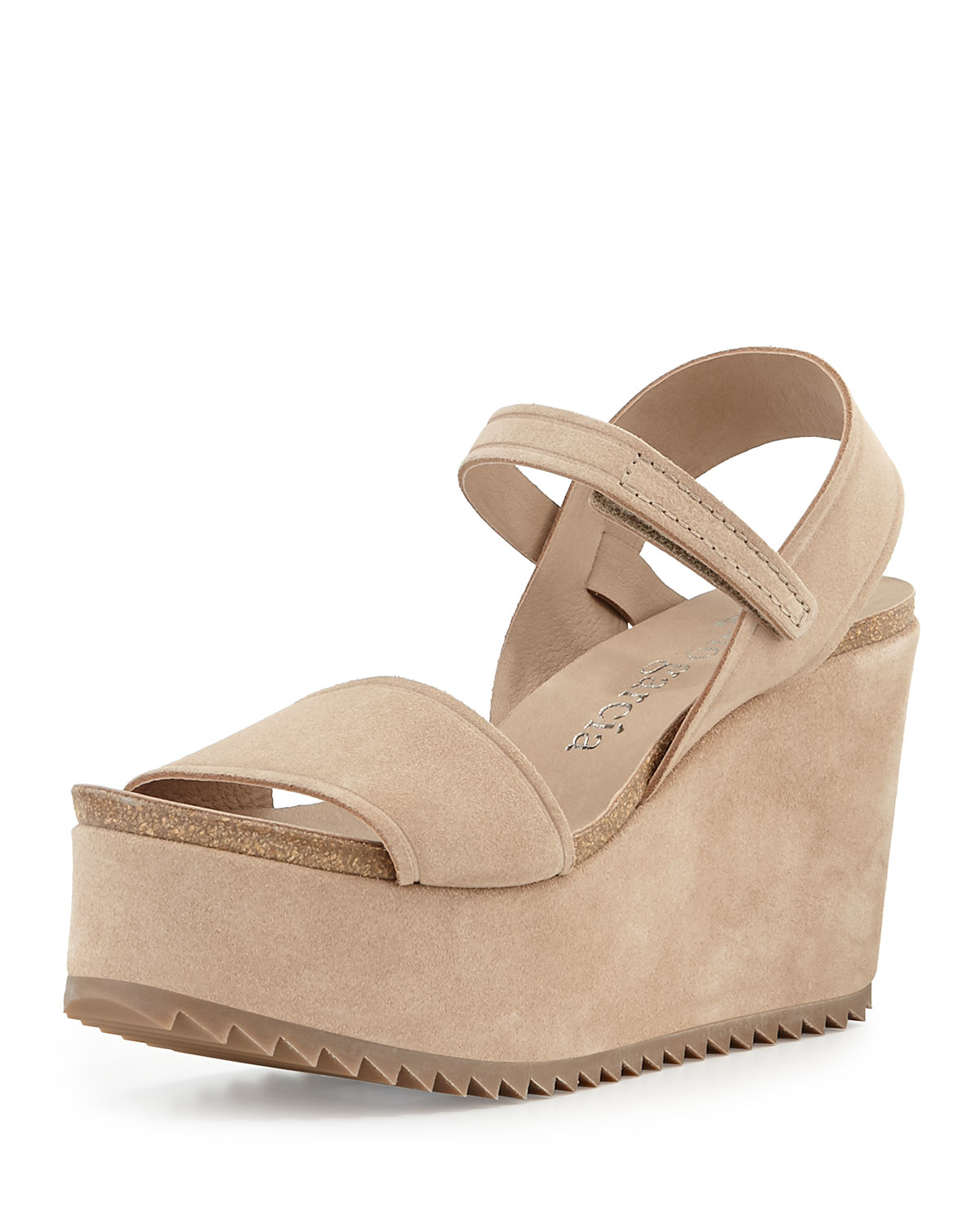 Pedro Garcia Suede Platform Sandals cheap sale Manchester many kinds of sale online amazon cheap price 2014 newest cheap price cheap real authentic 3yHtL
