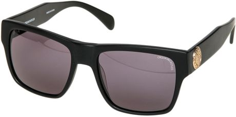 f856a6925e06a Crooks And Castles The Violento Noir Sunglasses in Black