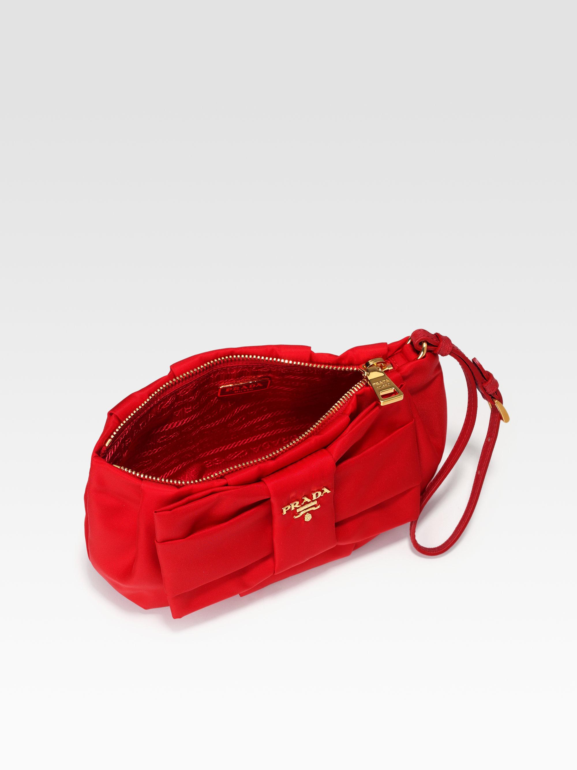 prada vela large messenger bag - prada tessuto wristlet, genuine prada purse