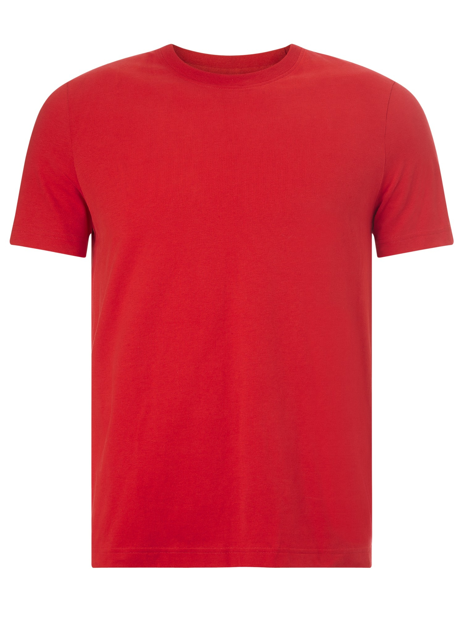 lyst john lewis jersey cotton crew neck t shirt in red. Black Bedroom Furniture Sets. Home Design Ideas