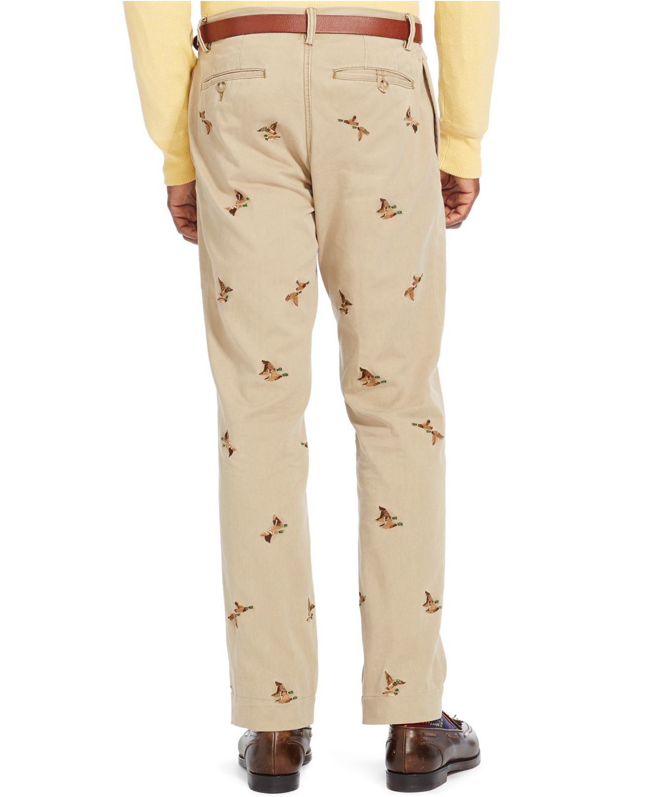 Polo Ralph Lauren Straight Fit Embroidered Bedford Chino