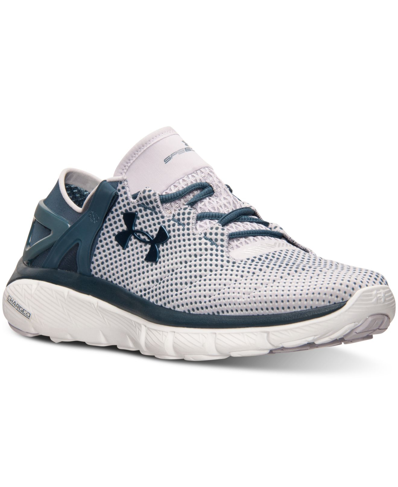 Lyst - Under Armour Women s Speedform Fortis Pixel Running Sneakers ... c4e4fe3a1b
