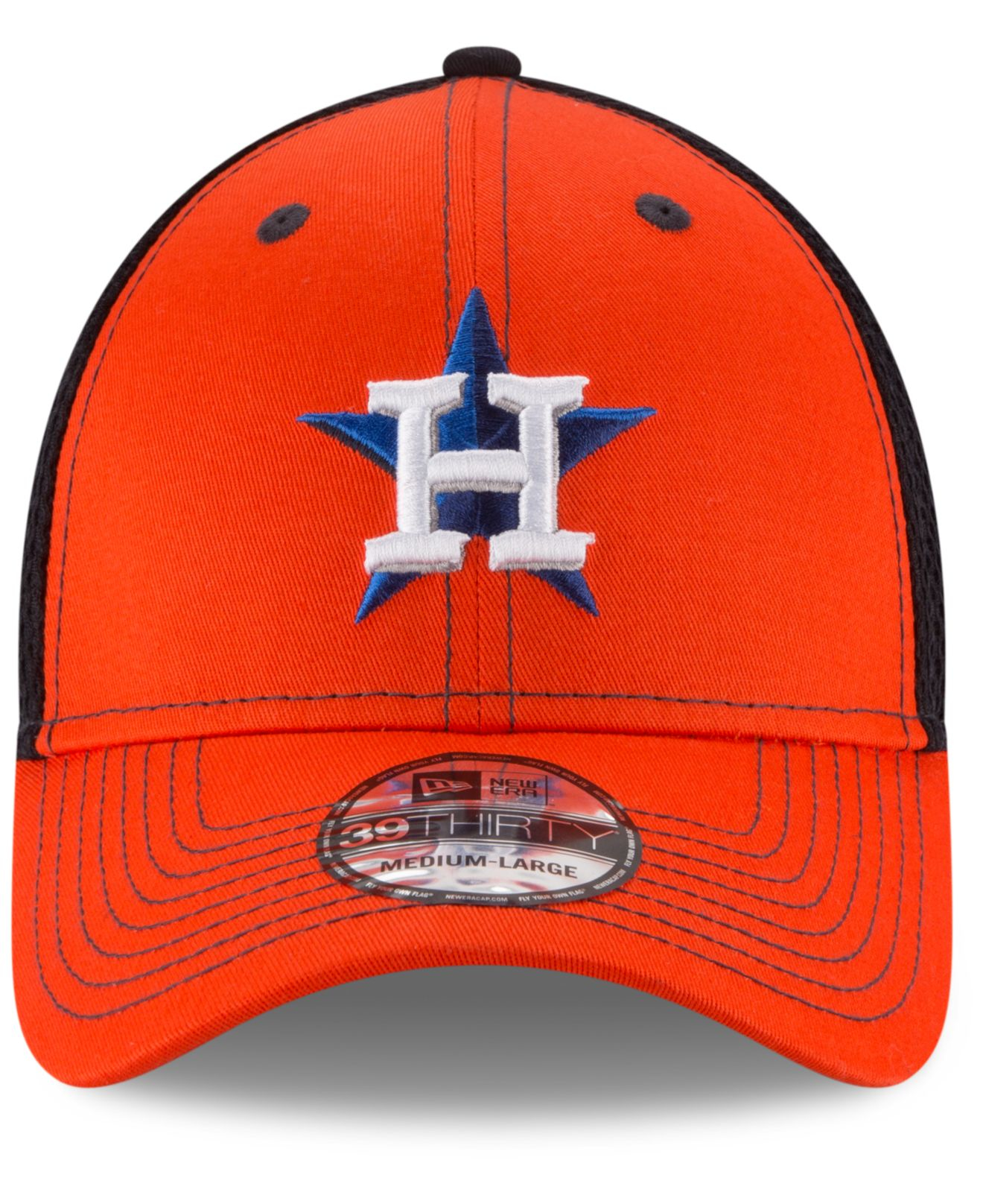 official photos ef902 44e81 Lyst - KTZ Houston Astros Team Front Neo 39thirty Cap in Blue for Men