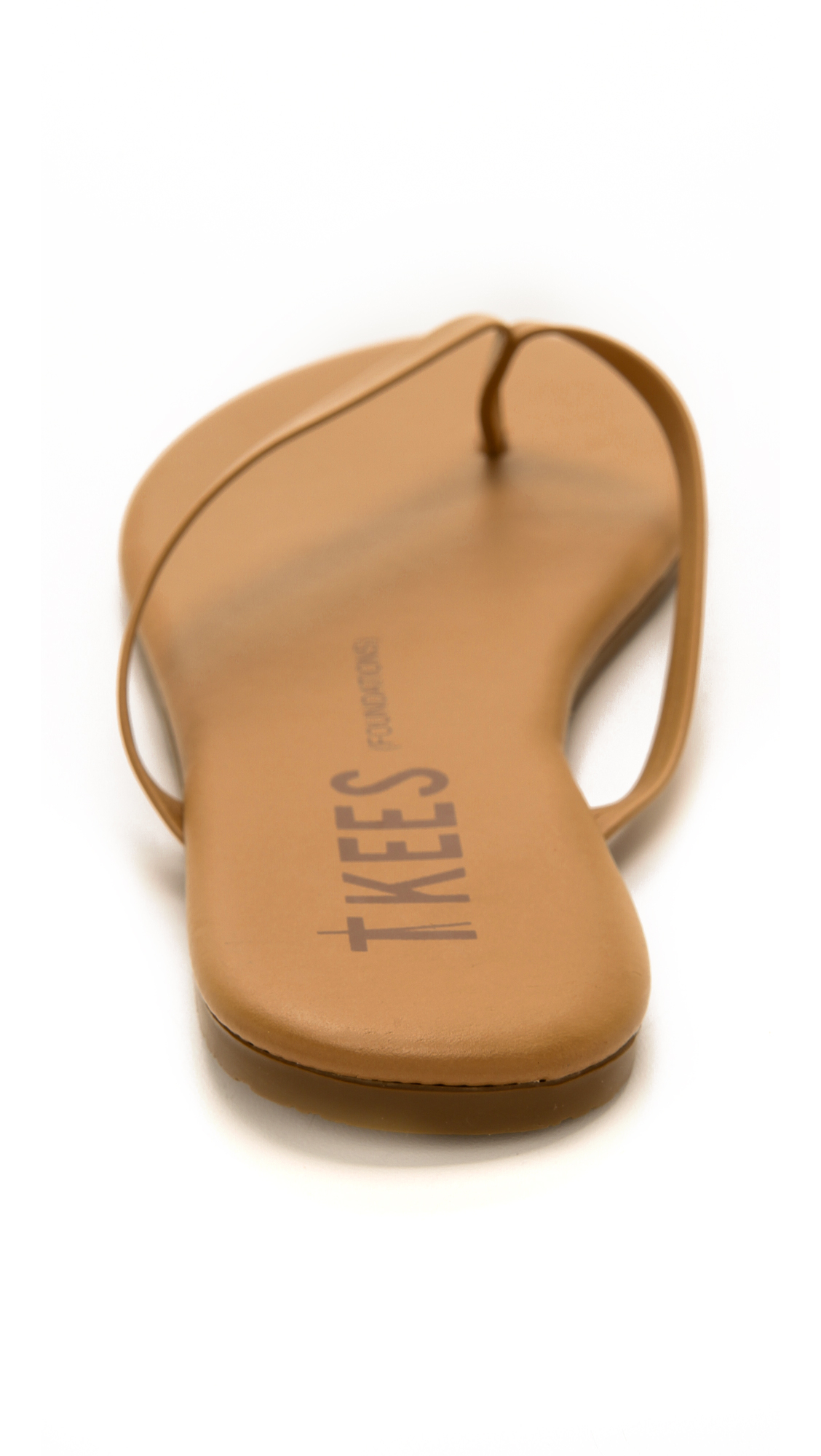 Lyst Tkees Foundations Flip Flops Cocoa Butter In Brown