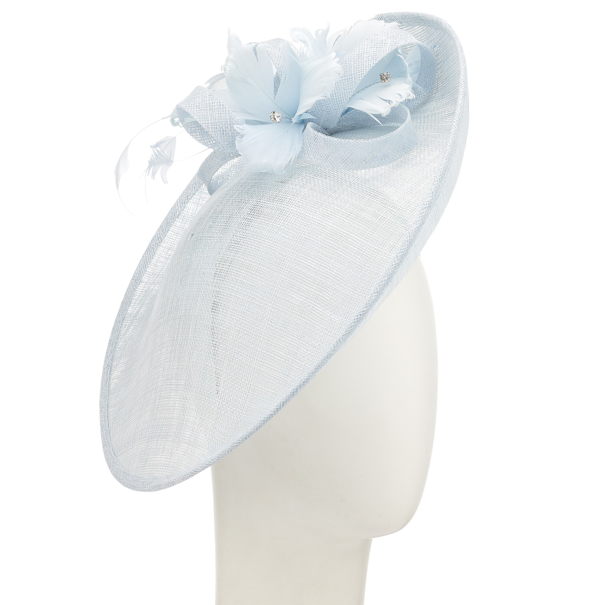 John Lewis Iona Silk Bow Disc Fascinator in Blue - Lyst aa0f443ed15
