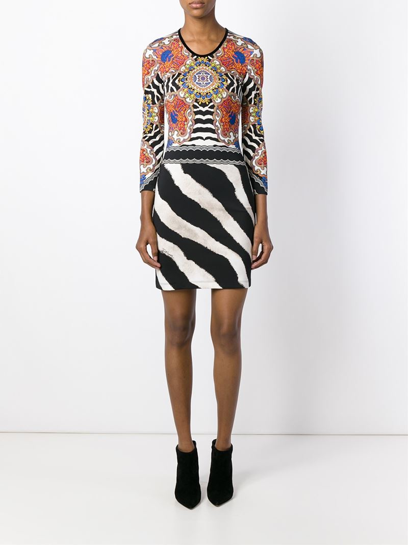 Just Cavalli Zebra Dresses
