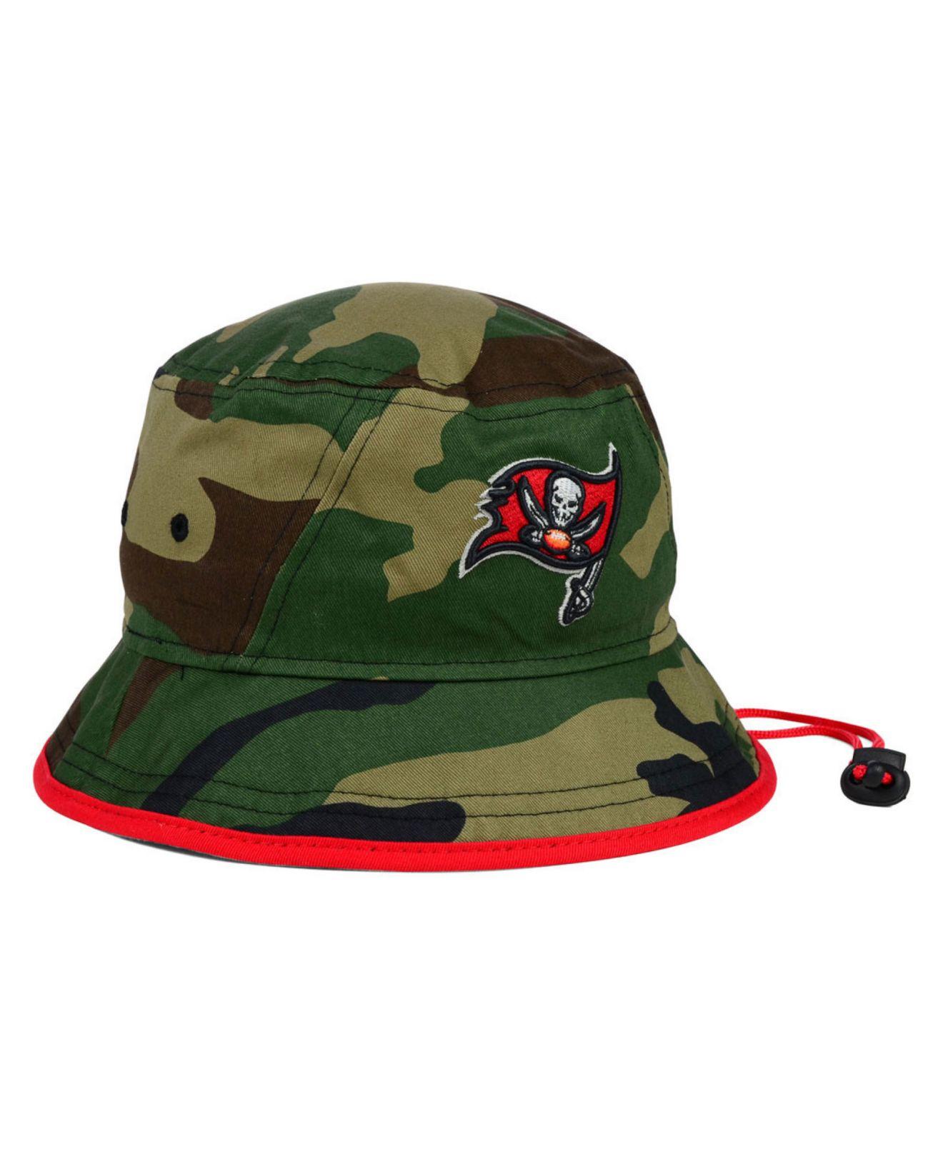 Lyst - KTZ Tampa Bay Buccaneers Camo Pop Bucket Hat in Green for Men b390c8acf8f