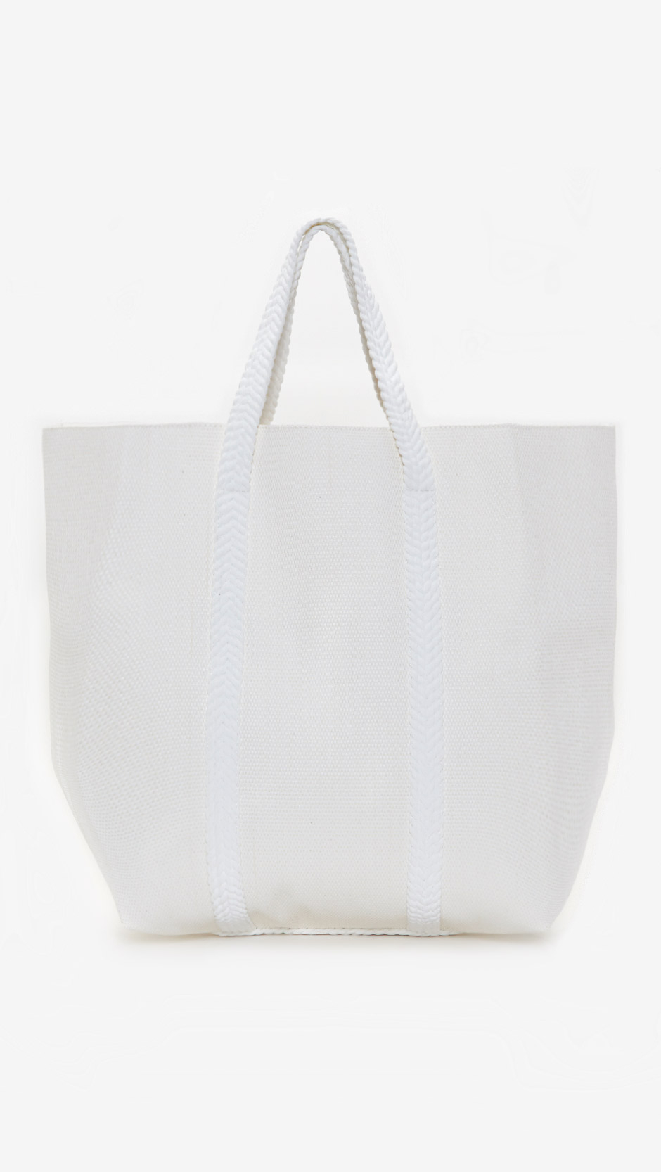 Chloé Beach Bag in White | Lyst