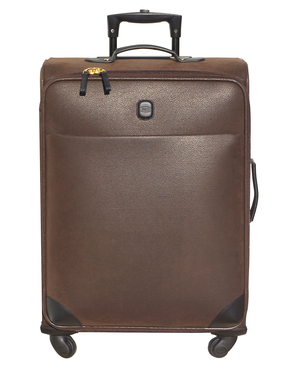 Bric's Leather Trolley Bag in Brown for Men | Lyst