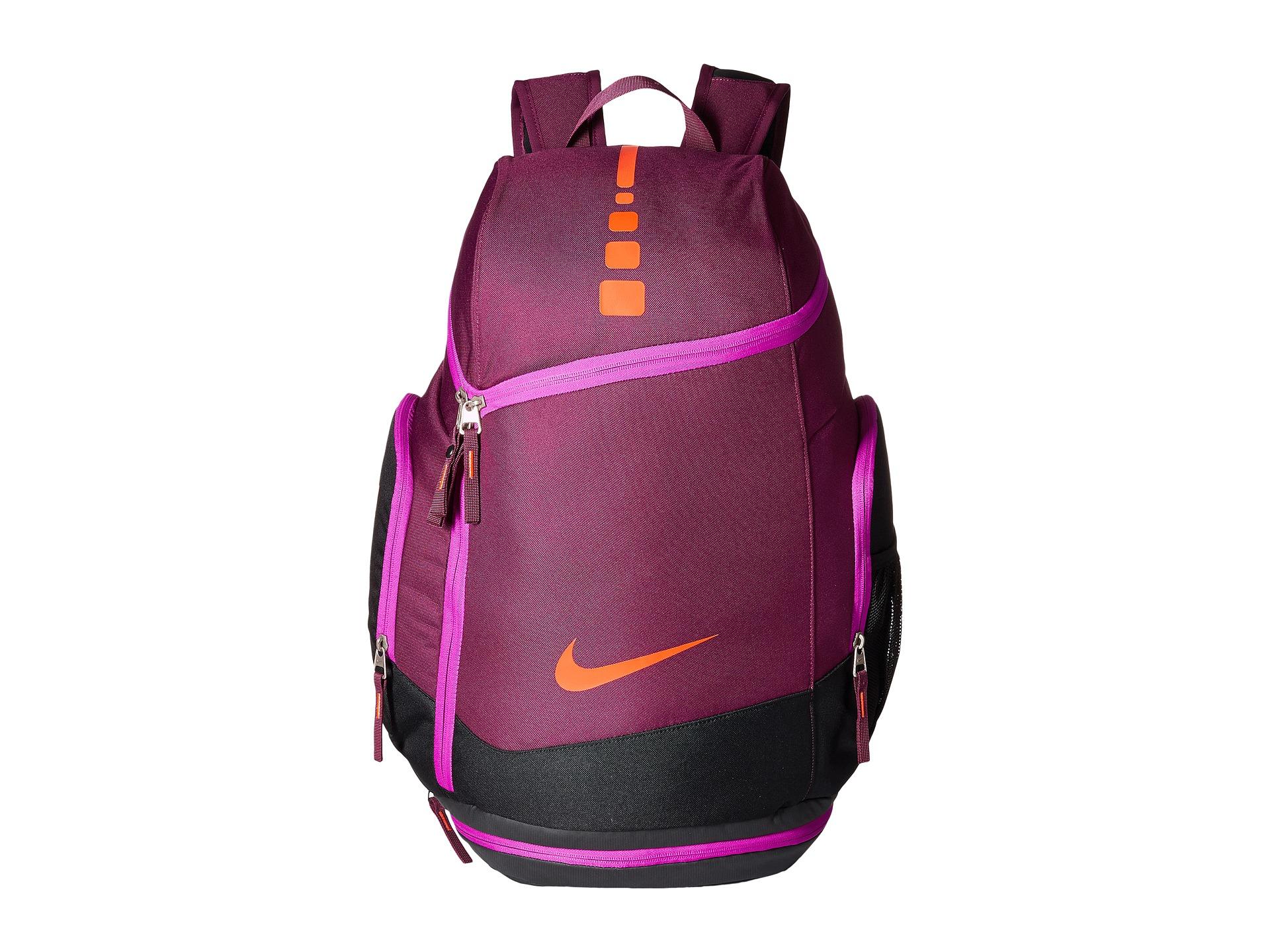 Nike Hoops Elite Max Air Team Backback In Purple Lyst