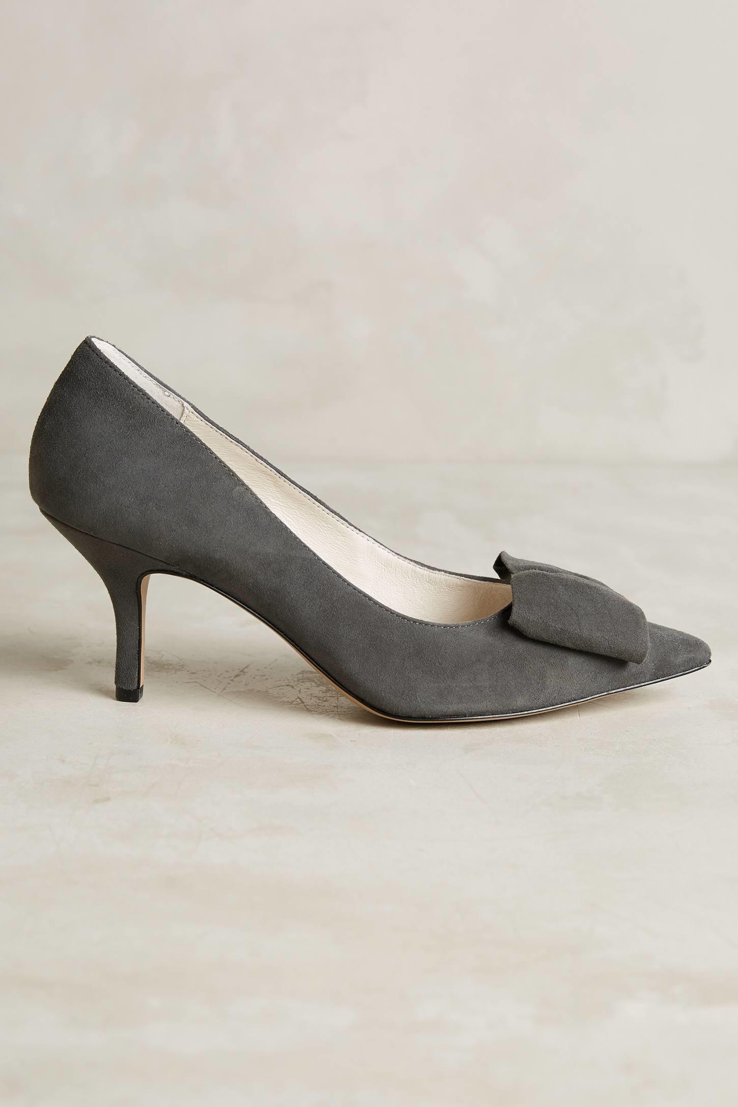 Lyst - Bettye muller Affair Kitten Heels in Gray