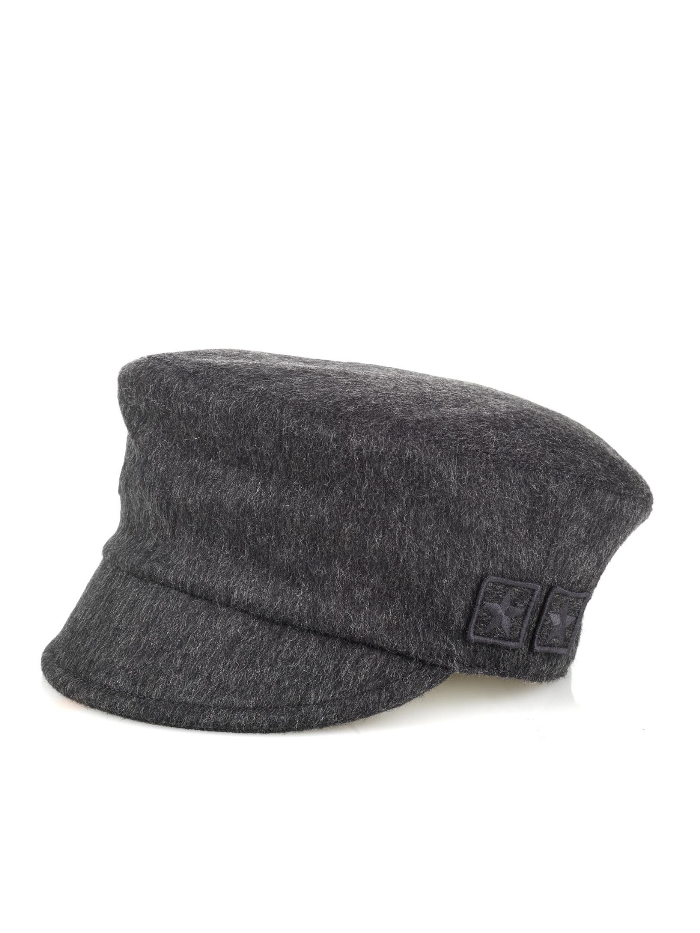 Lyst - Gucci Military Patches Wool Cap in Gray for Men eb8a86be92b