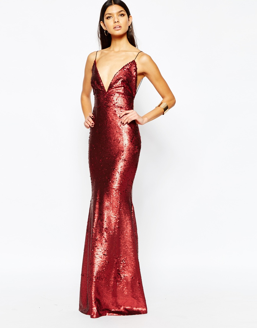 Long Strapless Open Back Maxi Dresses