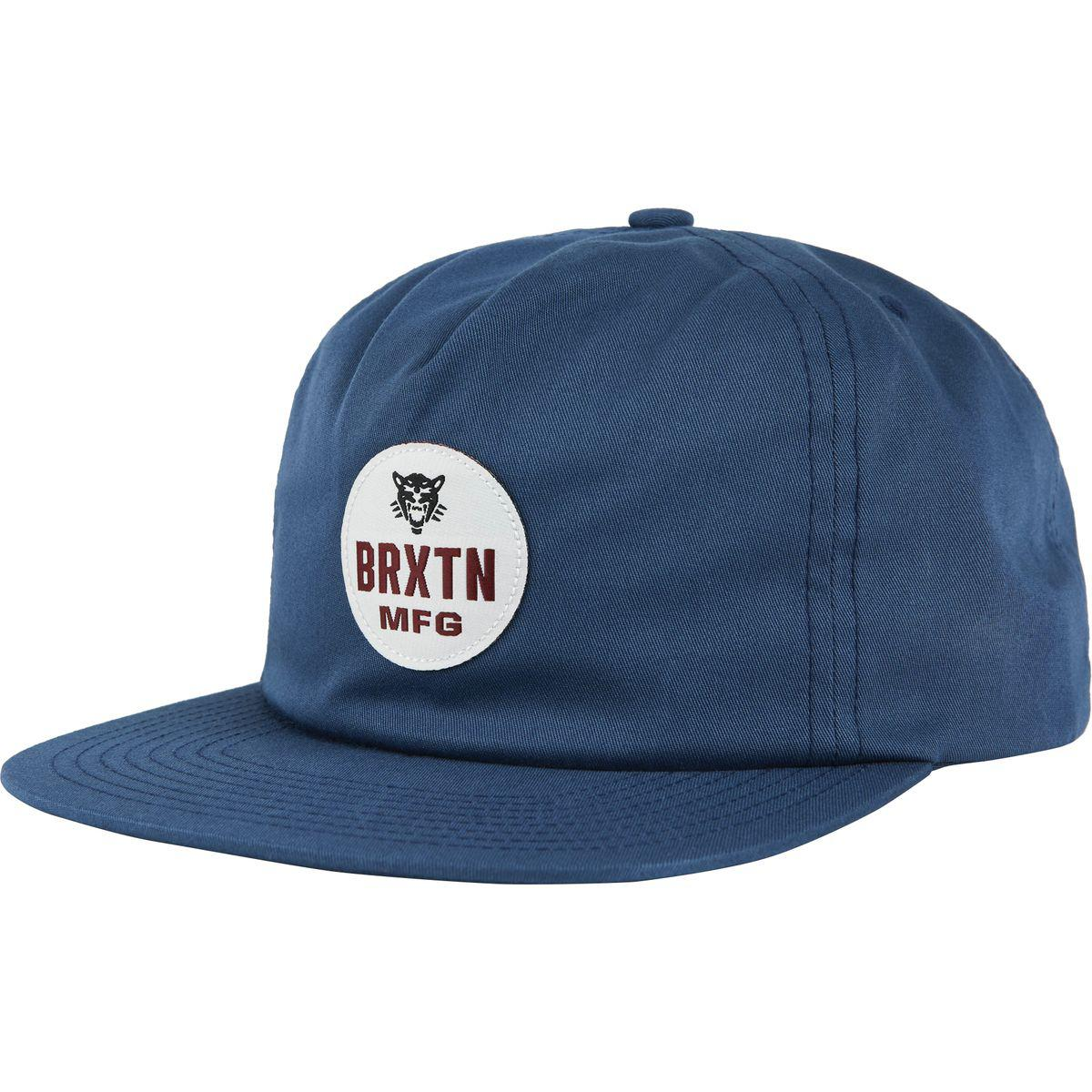 Lyst - Brixton Panther Hp Snapback Hat in Blue for Men a8ed99fe5649