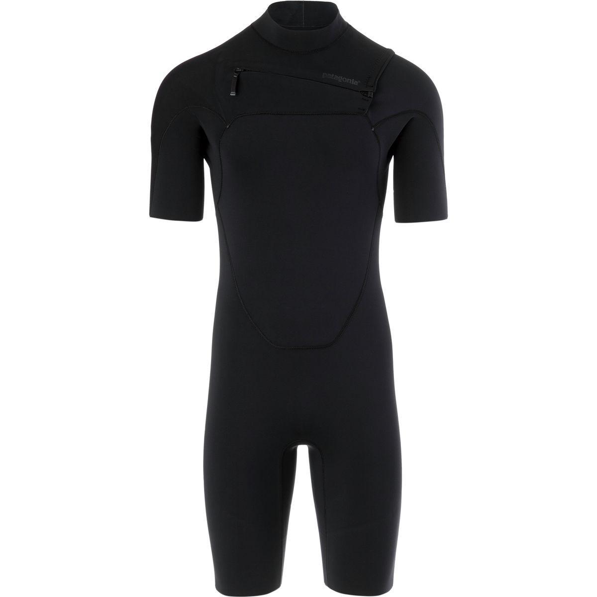 ef410855cb Lyst - Patagonia R1 Lite Yulex Full-zip Spring Suit in Black