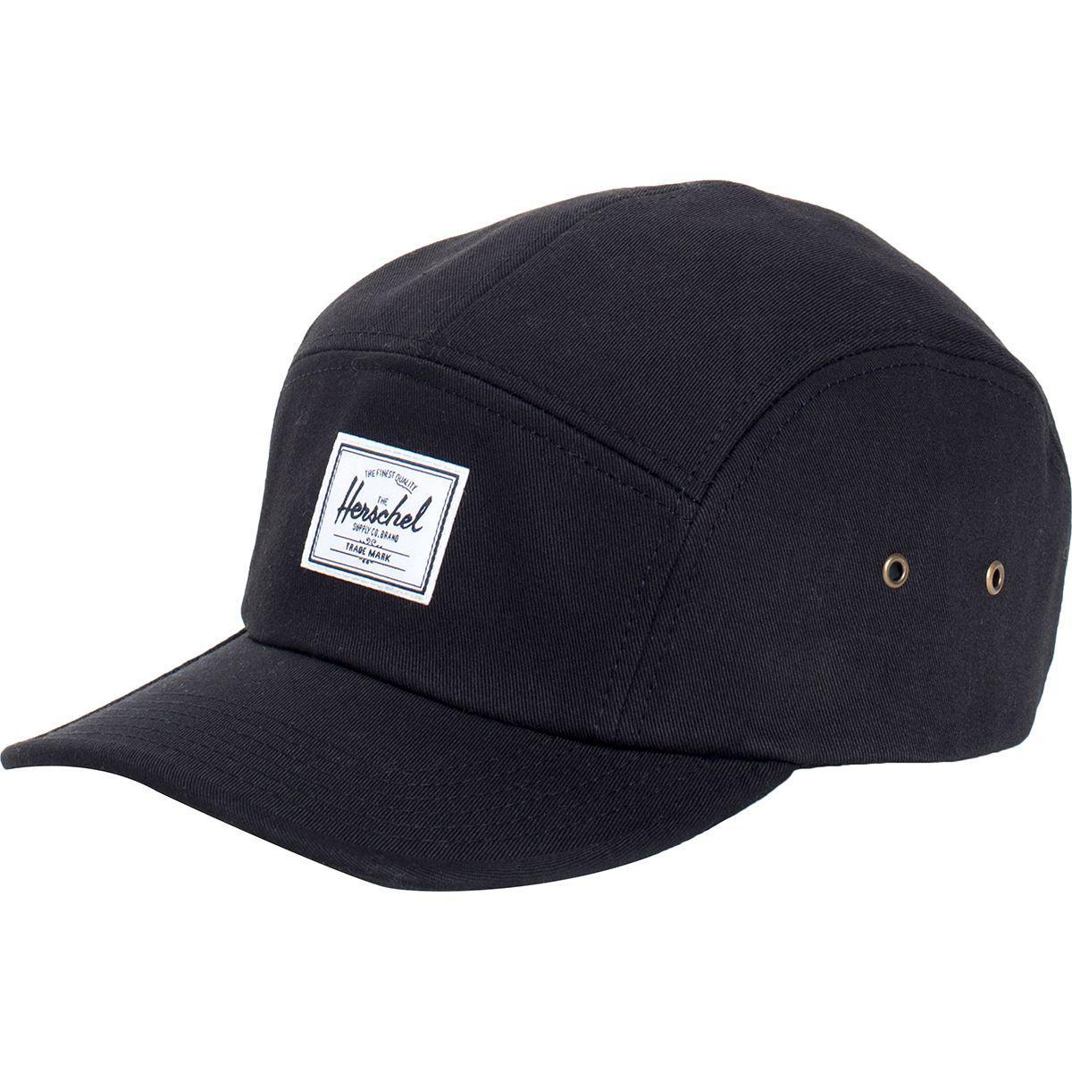 aa6c95c7 Lyst - Herschel Supply Co. Glendale 5-panel Hat in Black for Men