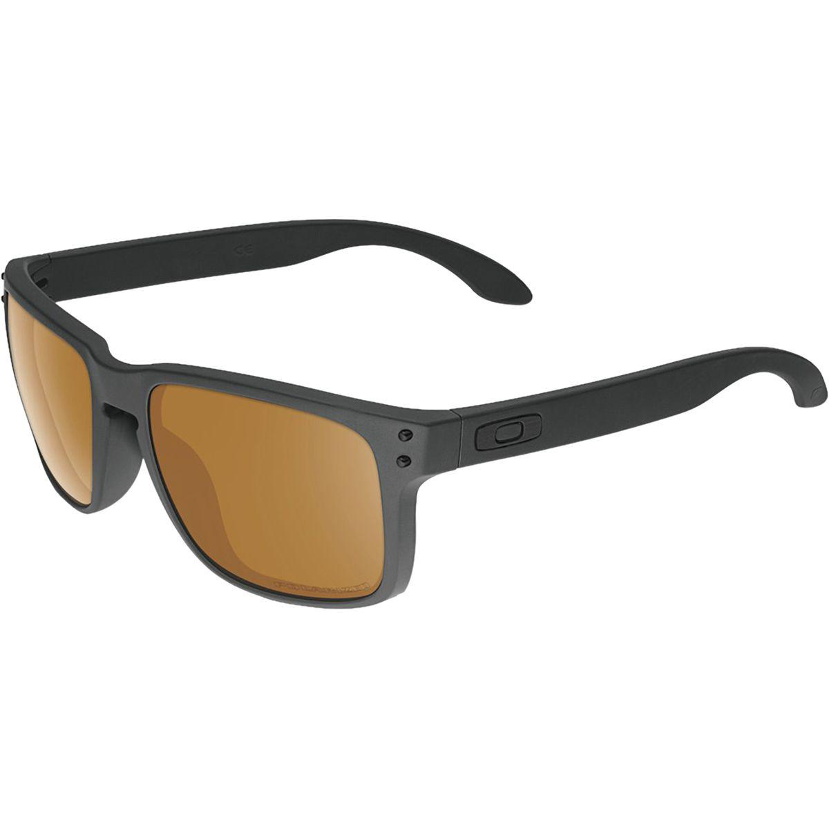 4e4f05f48a27c Lyst - Oakley Holbrook Polarized Sunglasses in Black for Men