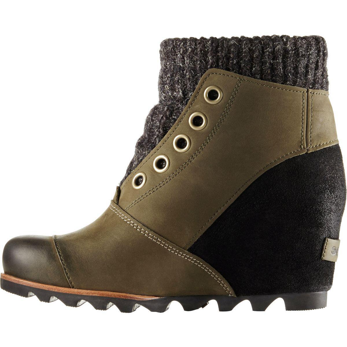 Lyst Sorel Joanie Sweater Boot In Green