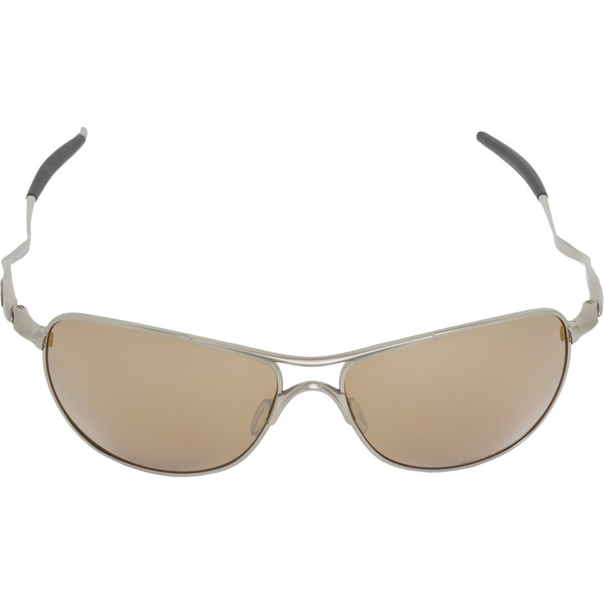 072dcc50a2 Oakley - Gray Titanium Crosshair Sunglasses - Polarized for Men - Lyst.  View fullscreen