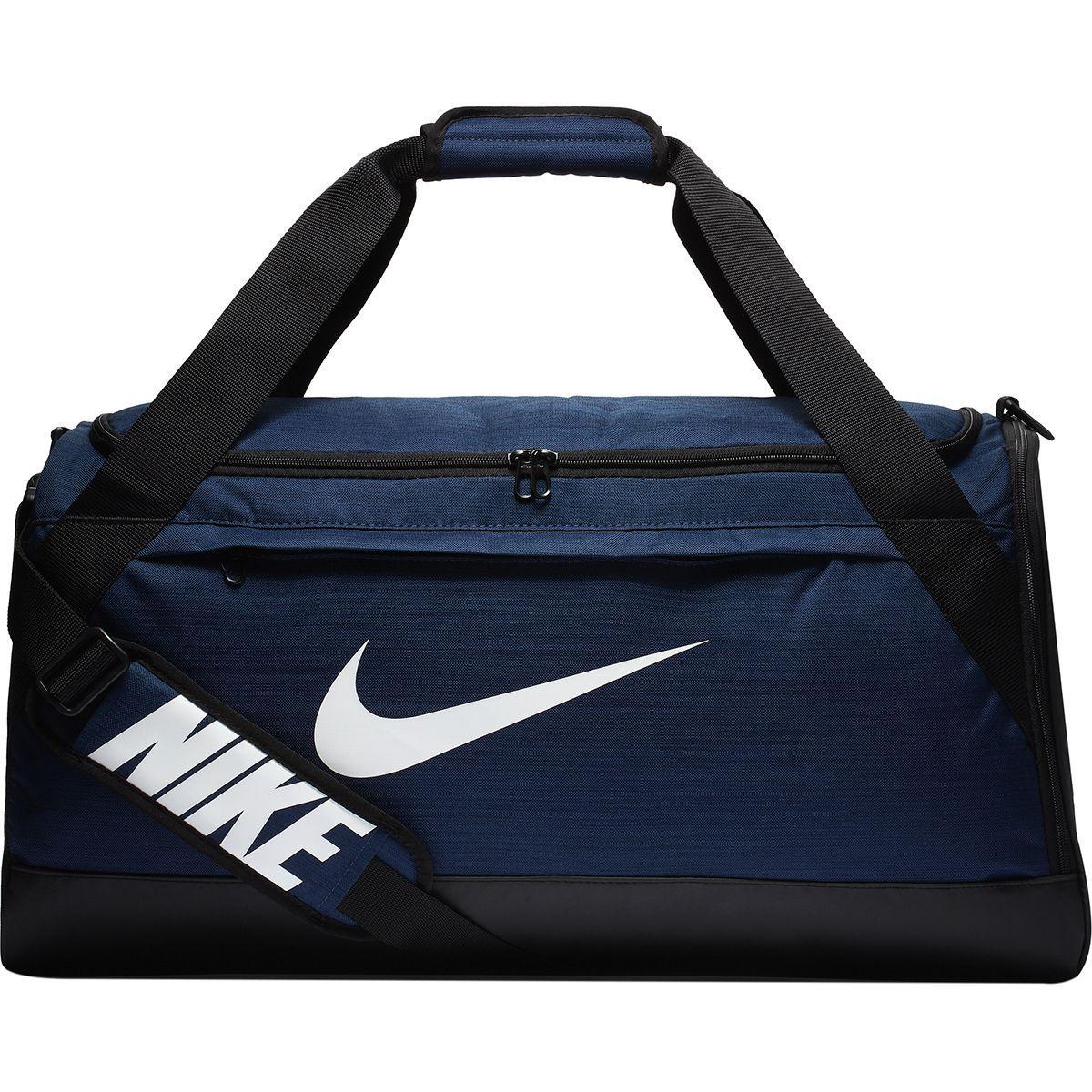 0b2d84280f Lyst - Nike Brasilia Medium Duffel in Blue for Men - Save 11%