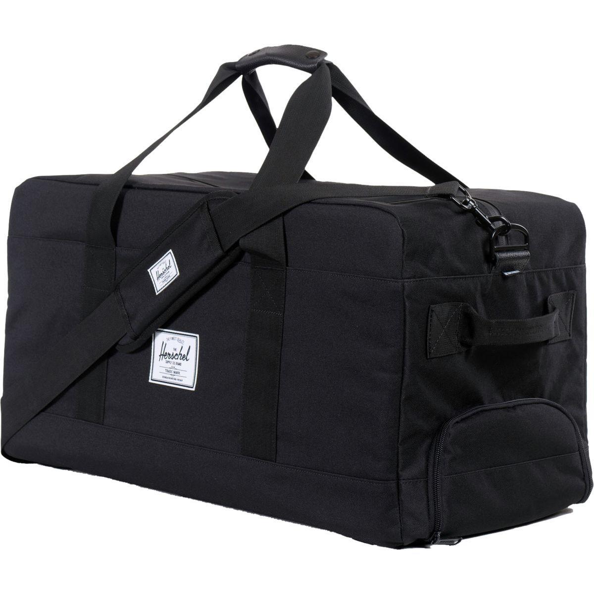 a37b76e715dd Herschel Supply Co. - Black Outfitter 63l Duffel for Men - Lyst. View  fullscreen