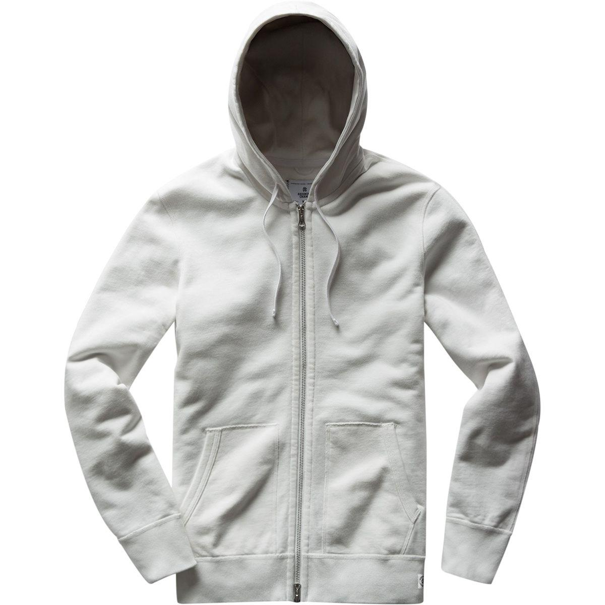 eaa0b8b261f Lyst - Reigning Champ Light Weight Full Zip Hoodie in Gray for Men ...