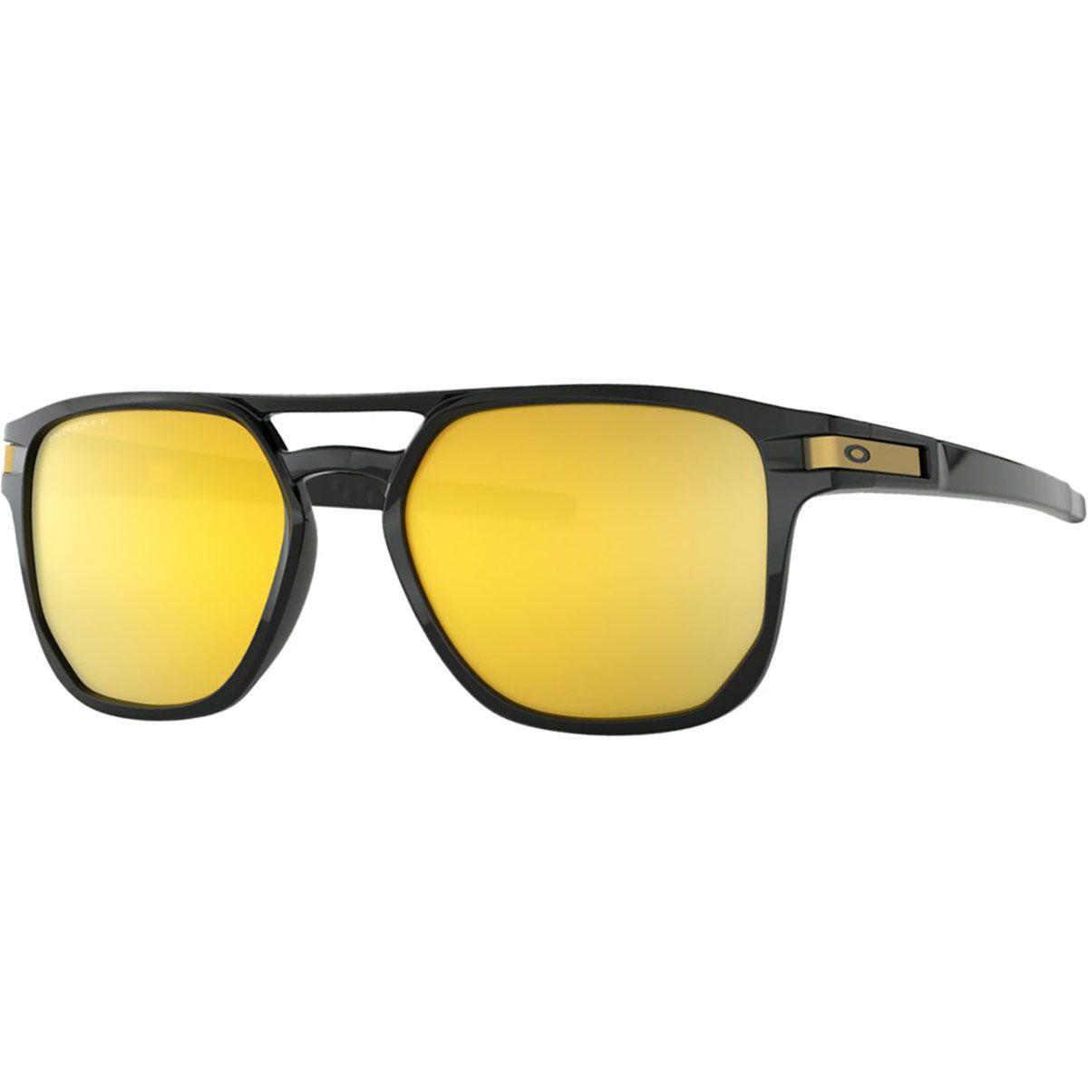 788589cf69fcf Lyst - Oakley Latch Beta Prizm Polarized Sunglasses in Black for Men ...