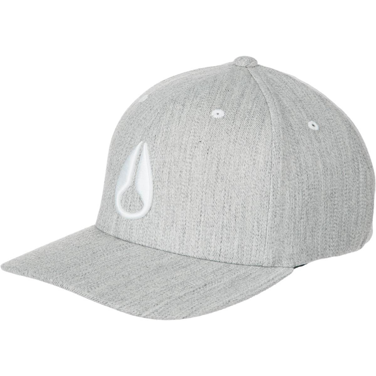 f4032485ea9 Lyst - Nixon Deep Down Athletic Flexfit Hat in Gray for Men