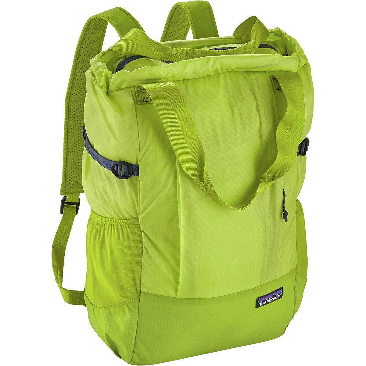 9508a52004b7 Patagonia - Green Lightweight Travel 22l Tote for Men - Lyst. View  fullscreen