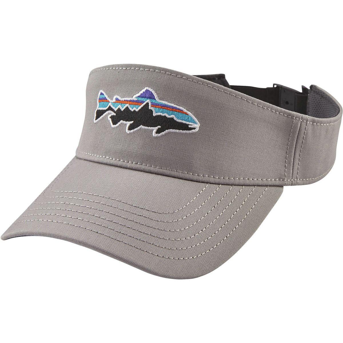 Lyst - Patagonia Fitz Roy Trout Visor in Gray for Men 95f5f8c4ae