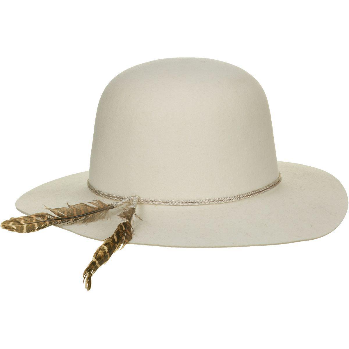 Lyst - Brixton Sol Hat in White 373f8b413a7