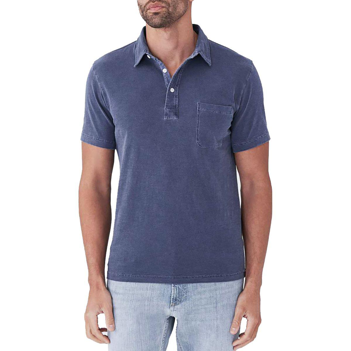 1f3a0ecb57d2 Lyst - Faherty Brand Sunwashed Polo Shirt in Blue for Men - Save 1%